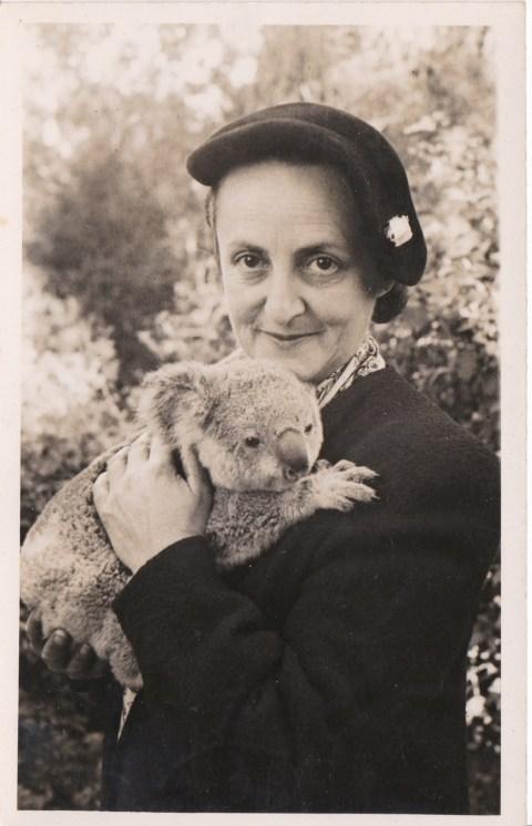 Edna and koala